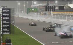中止のF1レースに代わって、現役レーサーたちがオンラインで戦うバーチャルグランプリ開催