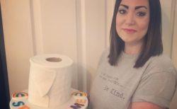 トイレットペーパーケーキが救世主!2児の母親が病院のための資金を調達