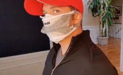 顔の大きな人でも大丈夫!ハサミだけで靴下をマスクにする方法