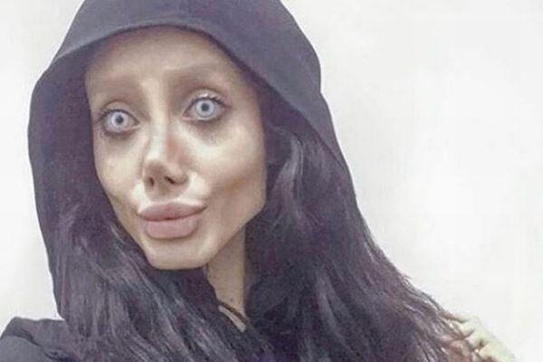 アンジェリーナ・ジョリーに似たイラン人女性、刑務所で新型コロナに感染