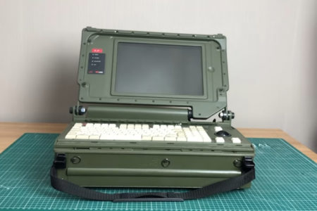 最も野蛮なラップトップ!?めったに見れないベルギーの軍用マシン、レビュー動画が投稿された