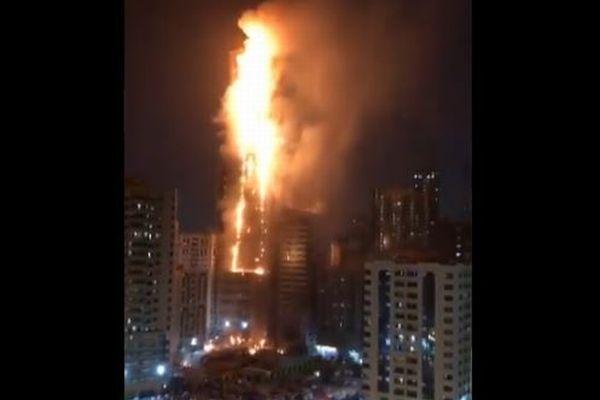 アラブ首長国連邦の高層ビルで大規模火災、近年多発する理由とは?