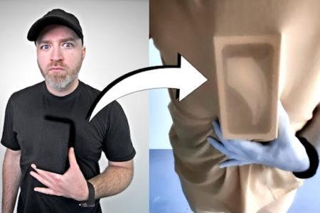 米国のスマホマニアが、服やプラスチックが透けて見える「X線モード」カメラを発見