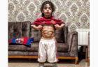 6才にして筋肉ムキムキ、インスタにセンセーションを巻き起こすイランの少年
