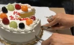ケーキを無造作かつ完璧に切る母のライフハックに、TikTokユーザーは唖然