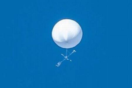 仙台市上空に謎の白い球体、高度2000m付近を移動、いまだ正体分からず