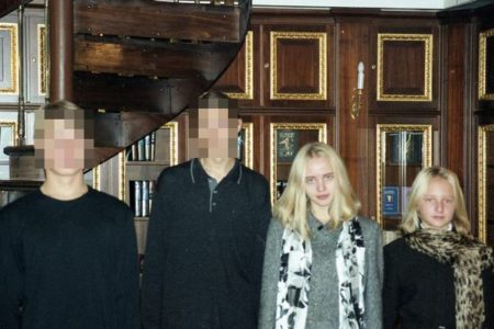 ベールに包まれていたプーチン大統領の2人の娘、その写真が公開される