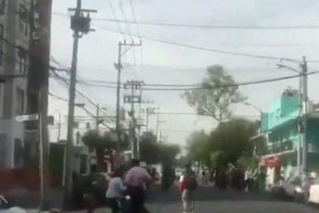 メキシコ太平洋岸付近でM7.4の大きな地震、建物や車まで大きく揺れる