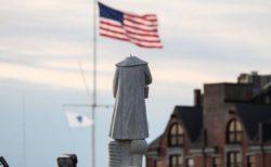 【黒人差別抗議運動】ボストンでコロンブス像の首が切断される