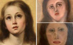 スペインで再び素人が修復に失敗!名画の聖母マリアが哀れな顔に…。