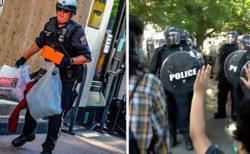 暴力的なデモ参加者の証拠映像を求めたFBI、送られて来たのは警官の暴力シーンばかり