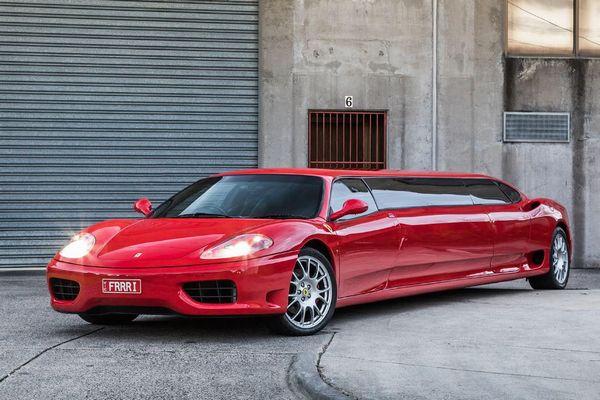 最も長~い世界最速の車、フェラーリのリムジンが豪で販売開始