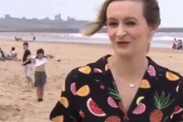 BBCのお天気コーナー、リポーターの背後で少年がダンスを披露、視聴者涙目