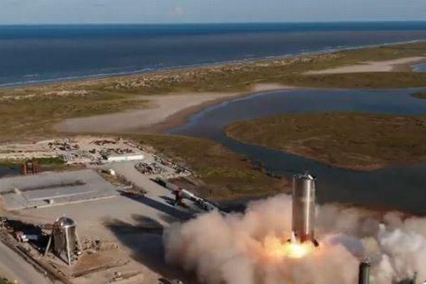 スペースXの次世代ロケット「Starship」、プロトタイプによる打ち上げ実験が成功