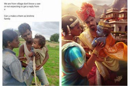 フォトショップで日常的な写真を夢の世界に変える、インド人デザイナーがすごい