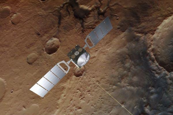 火星の地下に3つの湖の存在を確認、過去に予想された場所でも第4の湖