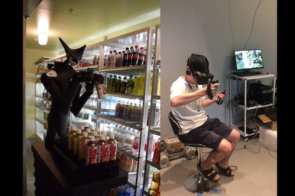 人がVRで操作するちょっと怖いロボットが、ローソンとファミマで働き始めた