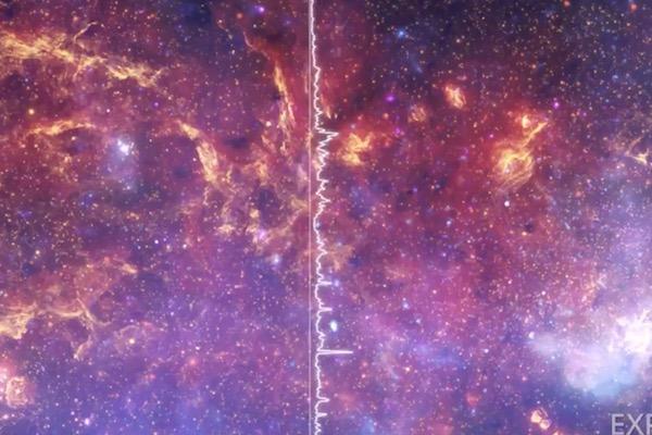 データを音に変換するNASAのプロジェクト、「天の川」の音を公開