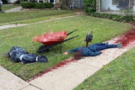 気合を入れてハロウィーンの装飾を自宅に施した男性、警察に通報されてしまう