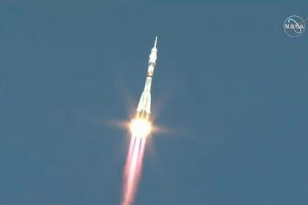 ロシアのロケットが約3時間でISSに到着、従来の半分の時間で記録更新