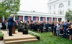 トランプ大統領はどこで新型コロナに感染したのか? ある会場で多くの出席者が感染