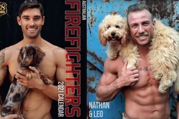 今年は特別な意味を持つ1冊に。イケメン消防士×動物カレンダ―発売