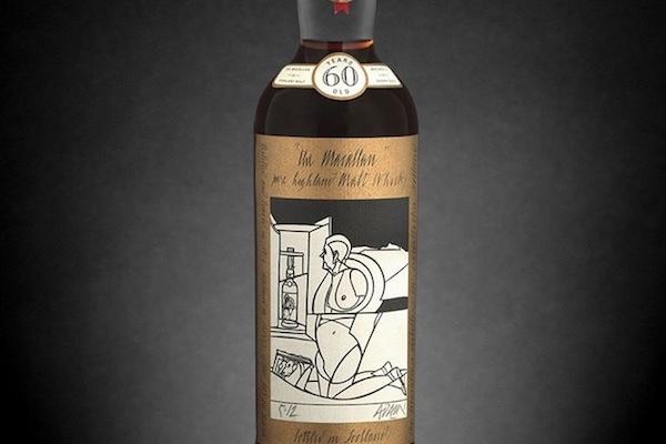 シングルモルトウイスキー「マッカラン」の60年ものが1億2500万円で落札される