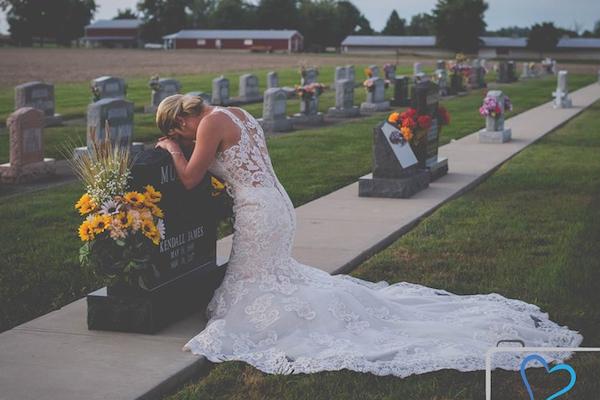 事故で死んだ婚約者と、悲しみの結婚式を挙げた新妻