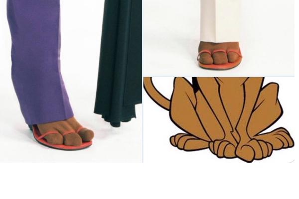 ジバンシィの新作ソックスとサンダルは指が3つ、「犬みたい」とネットで話題