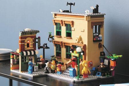 レゴブロックにセサミストリートのセットが新登場