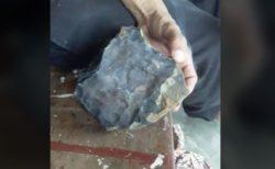 家に落下してきた隕石のおかげで男性が一夜にして億万長者、1.9億円をゲット