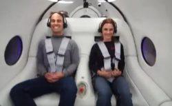 「バージン・ハイパーループ」が初めて人間を乗せて試験走行、乗り心地は?