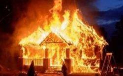 火災で部屋に取り残された幼い妹、7歳の兄が窓から入り救助に成功