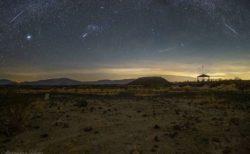 世界各国で目撃された「ふたご座流星群」、ネットに投稿された写真の数々