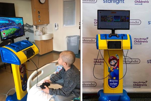 ゲームで病気の子供たちに笑顔を!任天堂のアメリカ法人が携わる粋なプロジェクト