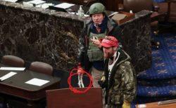 数年で思想が過激化…拘束具を手に議事堂に侵入した元軍人