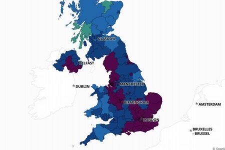 イギリスで新型コロナにより1800人以上が死亡、1日の死者数が最多更新
