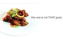 メニューの説明書きが正直過ぎて話題の、カナダの中国料理店