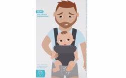 パパの局所を赤ちゃんキックから守るパンツが、可笑しいけど笑ってはいけない