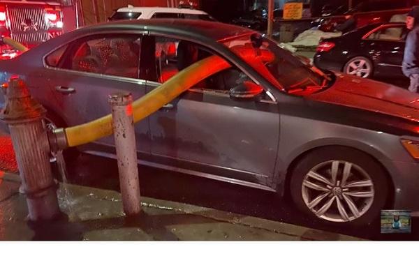 消火栓の前に車を止めてはいけません!その理由がよくわかる動画