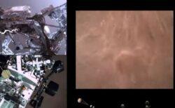 NASAが「パーサヴィアランス」の着陸する映像を公開、火星の地面が近づく様子が撮影される