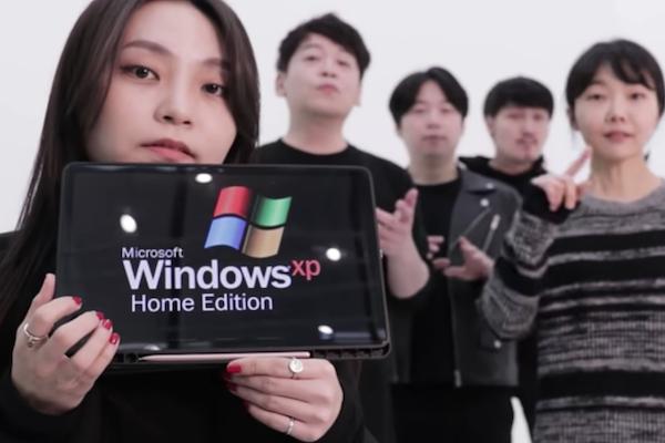 韓国のアカペラグループが、Windowsの電子音を声で完璧に再現