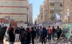 エジプトのビル倒壊事故で奇跡、瓦礫の中から生後6カ月の赤ちゃんを救出