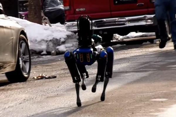 ニューヨーク市警が犬型ロボット「Digidog」を配備、事件現場に投入