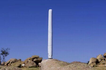 回転翼のない風力発電機、多くの鳥を保護し、環境にも優しい