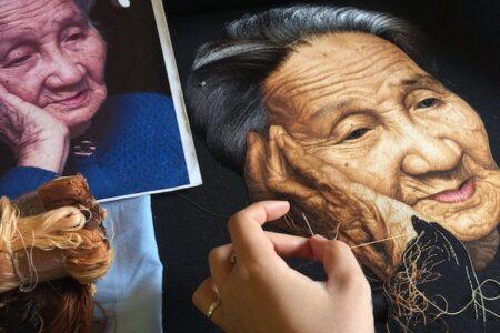 もはや絵画のよう!リアルさを極めたベトナムの絹刺繍が凄い