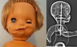 発掘された70年代のお人形が不気味すぎる!その正体は?【過去のワダイ】