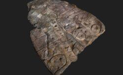 フランスの城で発見された石板、ヨーロッパで最古の立体地図か?
