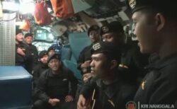 【潜水艦沈没事故】インドネシア海軍が乗組員の過去の動画を公開