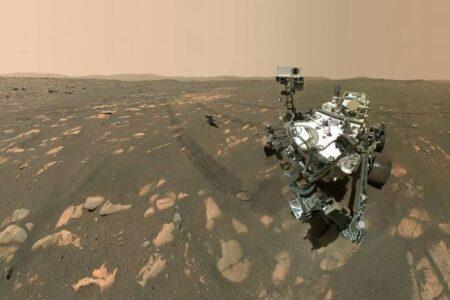 「パーサヴィアランス」が、火星の大気から酸素を生成することに成功